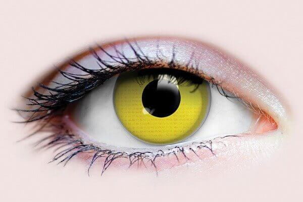 Primal RAVEN 3 month reusable Coloured Eye Contacts