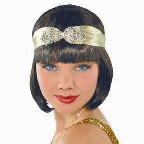 20's Flapper Headband Gold. SKU 844012