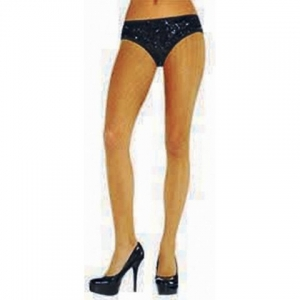 20's Gold Fishnet Tights. SKU844818