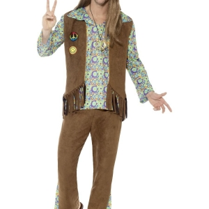 60's Hippie Costume. SKU 43126.