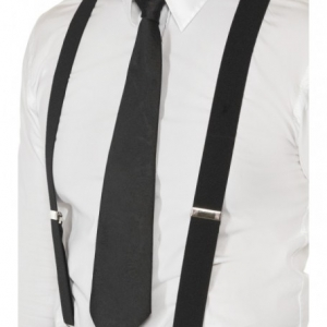 Braces/Suspenders- Black. SKU CA3224BK