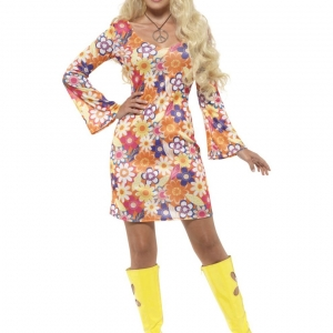 Flower Hippie Costume. SKU 45520.