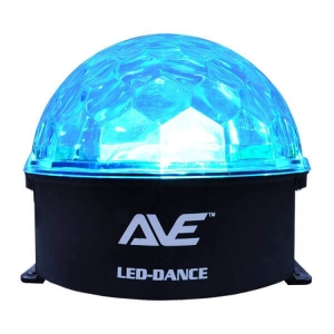 AVE LED-DANCE Jelly Ball 180 degree Disco Light - Part No. LED-DANCE