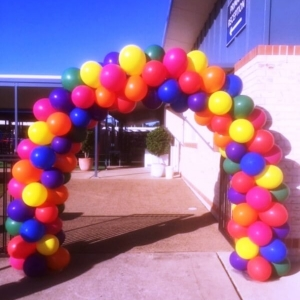 Solid Balloon Arch