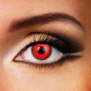 BLOOD RED 3 month Coloured Eye Contact Lenses