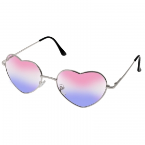 Complete your hippie or festival outfit with the perfect accessory- heart shaped glasses. Includes: one pair of heart shaped glasses.