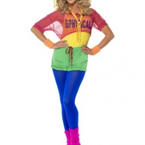 80s Let's Get Physical party costume Smiffys