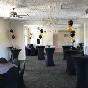 Simple Balloon Bouquet Centrepiece features three Latex balloons